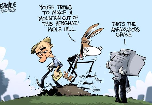 Benghazi Mole Hill?