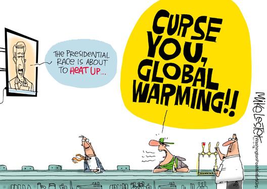 Curse You Global Warming