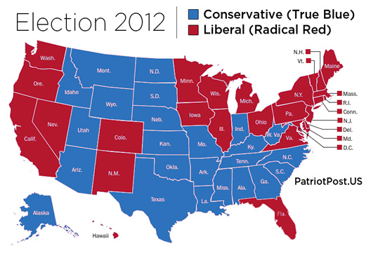 Election 2012 Map