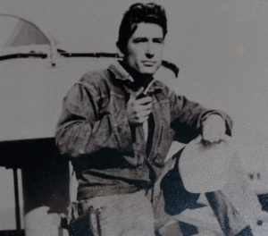 Young Ted in the Navy