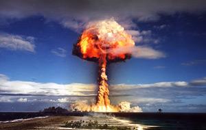 A-Bomb Mushroom Cloud