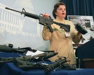 Sen. Feinstein explaining her 1994 gun ban