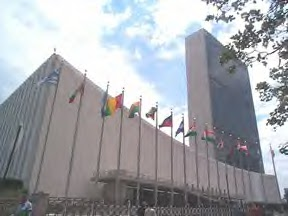UN Headquarters Building New York City