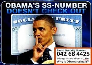 Obama - Social Security Number