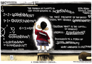 Obama Cartoon - Government