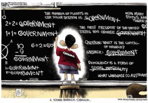 Obama Cartoon - Government