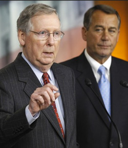 McConnell and Boehner