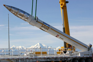 Missile interceptor at Fort Greely, Alaska