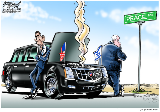 Breakdown on the Road to Middle East Peace