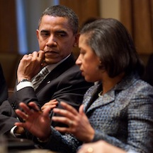 Susan Rice & Obama
