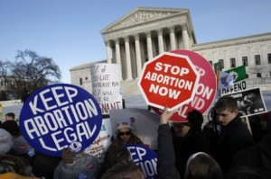 AA - abortion-protest