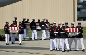 AA - Caskets of Benghazi victims