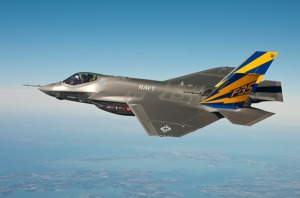 F-35 In Flight Image Credit - Newscom