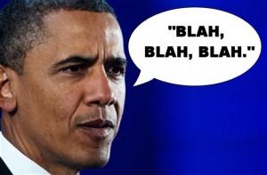 Obama - Blah, blah, blah