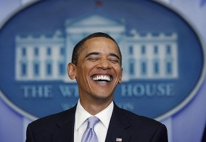 Obama Laughing 519