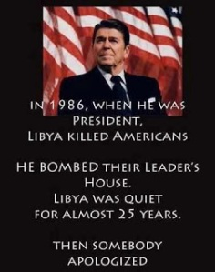 AA - Reagan and Libya