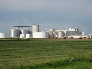 Ethanol plant in Turner County, South Dakota (Newscom)