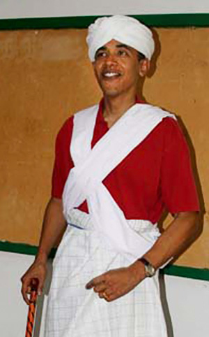 "Barack's ""Heritage Tour"" Outfit"