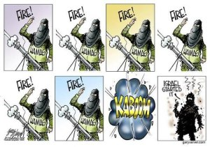 Cartoon - Gaza 2