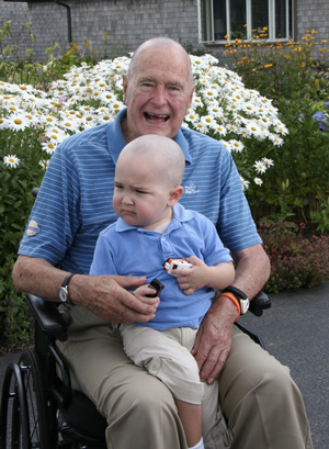 George H.W. Bush and Patrick