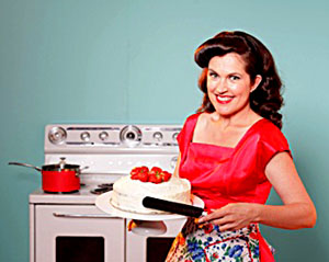 Annabel Crabb - Host Of The TV Cooking Show Kitchen Cabinet