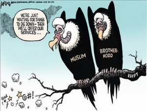 Cartoon - Muslim Brotherhood