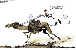 Cartoon - Obama foreign policy
