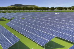 Artist's Impression Of The Mugga Lane Solar Park In the Australian Capital Territory - Image Credit - Zhenfa Solar