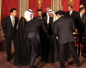 Obama bows to Saudi  - Apr09