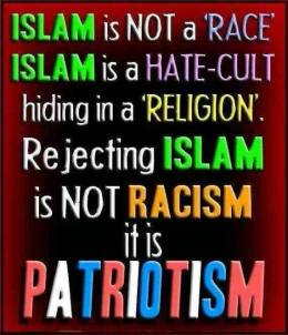 AA - Islam is a Hate Cult