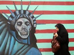 A wall mural in Tehran