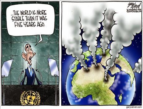 Cartoon - Unstable World