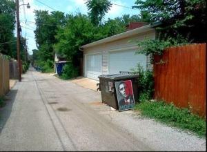 Obama - Dumpster