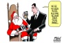 Cartoonist Gary Varvel: NSA and Santa surveillance