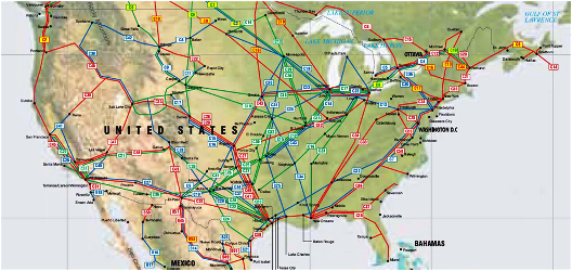 Pipelines in US