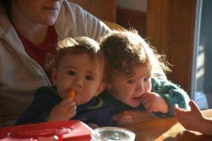 Henry and Luke
