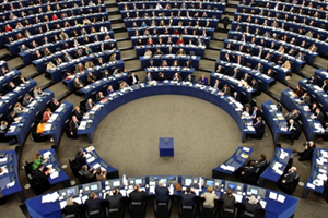 The European Parliament. Photo: Newscom