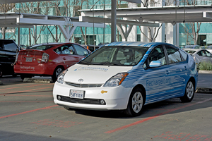 Prius Plug-in from RechargeIT