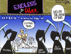 Cartoon - Endless War