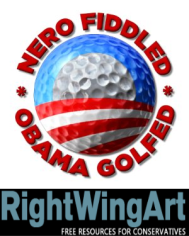 Nero Fiddled-Obama Golfed_RWA_d2a6c72a-5249-431f-a3b4-340120f101d7