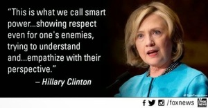 Hillary - Showing Respect