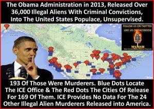 Immigration - Criminals Released