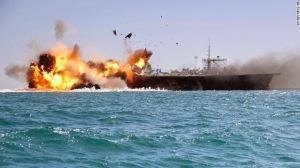 AA - Iran Destroys US Aircraft Mockup