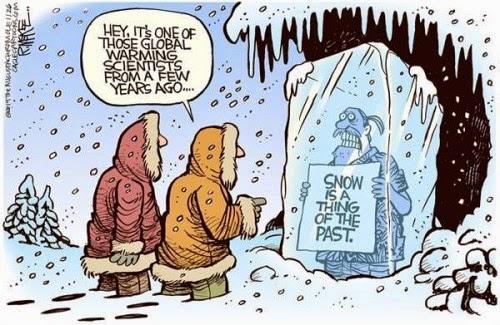 Cartoon - More GW and Snow