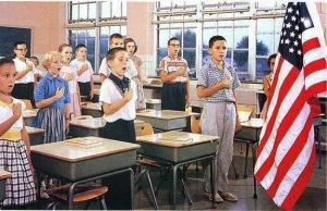 Salute School Flag