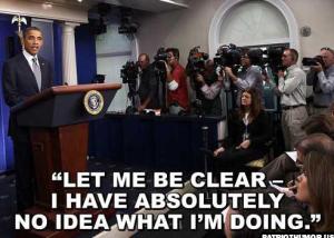 Obama - No Idea What Im Doing