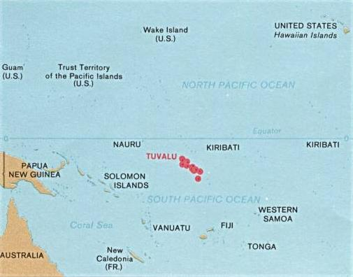 Climate Change Lies Exposed Tuvalu Not Drowning But Waving PA