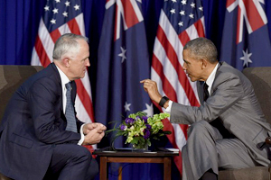 Australian Prime Minister Malcolm Turnbull meets with President Barack Obama.