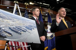 Reps. Robert Wittman, left, and Randy Forbes, both R-Va., have questions about taxpayer-subsidized academics who promote President Obama's agenda on global warming. (Photo: Bill Clark/CQ Roll Call/Newscom)