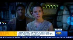 Finn and Rey Star Wars